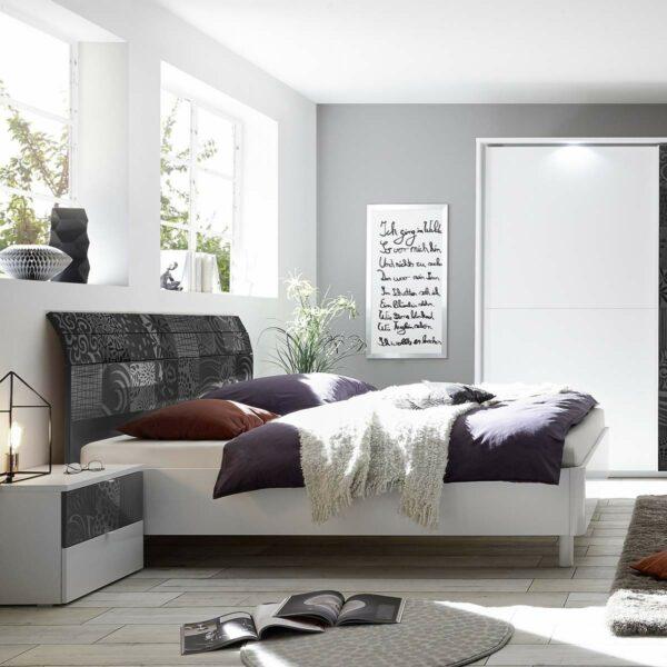 letto-testata-curva-grigio-lucido